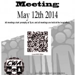 Membership Meeting May 12th 2014