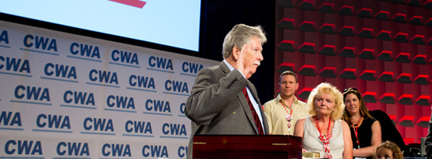 Chris Shelton Elected President of Communications Workers of America