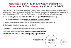 AT&T Mobility Healthcare Tentative Agreement- Vote Online!!!