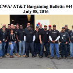 CWA/AT&T Bargaining Update #44