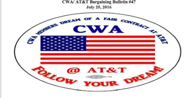 CWA/AT&T Bargaining Update#47