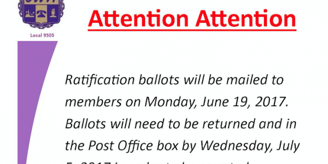CWA/AT&T West Core Contract Ratification Ballot Information